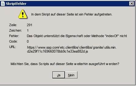 Crystal Reports Fehlermeldung eNVenta ERP