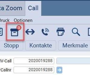 Nissen und Velten eNVenta ERP Anzahl der hinterlegten Archivmappen