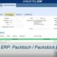 Packtisch Packstück Erfassung - eNVenta ERP