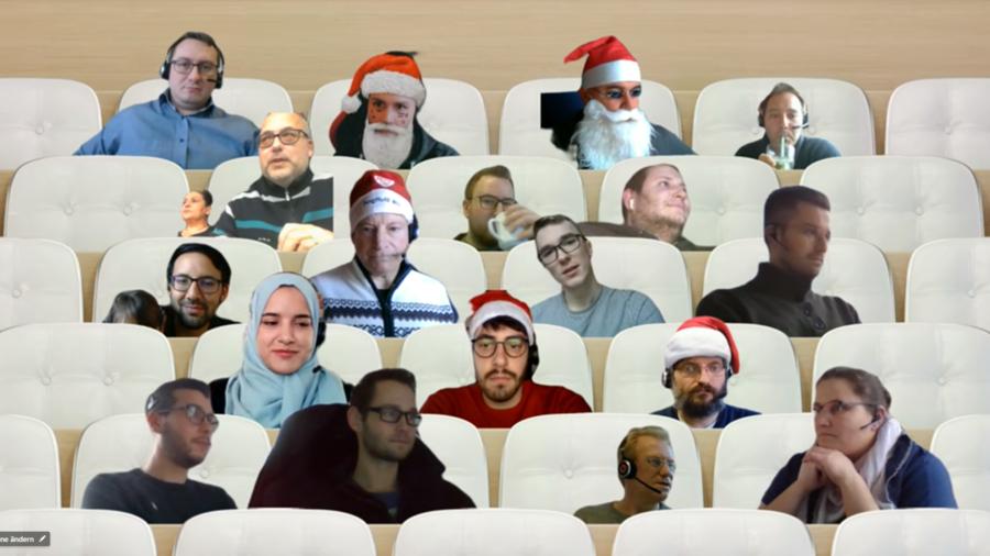 eNVenta ERP - Weihnachtsfeier _ Microsoft Teams_virtuell-ERP-Novum