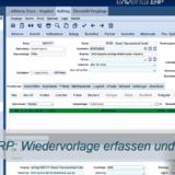 Thumbnail Wiedervorlage erfassen und versenden, eNVenta ERP, ERP Novum