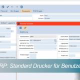 eNVenta-ERP -Standard Drucker für Benutzer einstellen